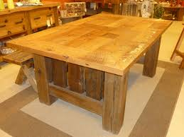 Mission Dining Room Furniture Mission Dining Table Fence Row Furniture
