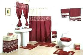Bathroom Sets Shower Curtain Rugs Bathroom Sets With Shower Curtain And Rugs Vrboska Hotel