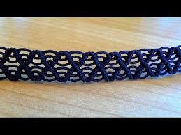 bracelet macrame images Bracelet macram facile mod le arceaux accessories pinterest jpg