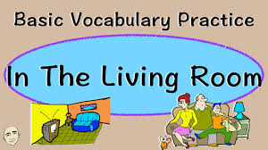 The Livingroom In The Living Room Basic Vocabulary Practice Esl Efl Youtube