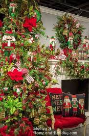 Decorate A Christmas Tree Nutcracker Theme by Simple Red Stocking With White Cuff Decorated With Striped