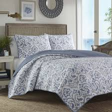 com tommy bahama cape verde smoke quilt set king smoke home kitchen