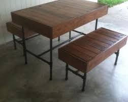 Pallet Dining Room Table Best 25 Pallet Dining Tables Ideas On Pinterest Table And Bench