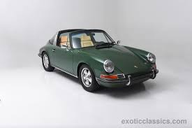porsche 911 dark green 1969 porsche 911 e targa irish green cars classic wallpaper