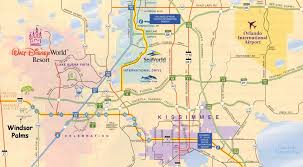 map of kissimmee your vacation home location florida villa days