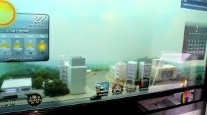 ces 2012 transparent samsung smart window youtube