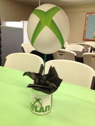 Minecraft Party Centerpieces by Xbox Party Centerpiece By Partycenterpiece On Etsy Centerpieces