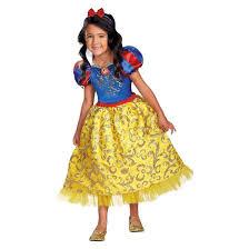disney princess girls u0027 snow white sparkle deluxe costume target