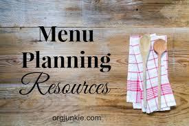 menu design resources menu planning resources i m an organizing junkie