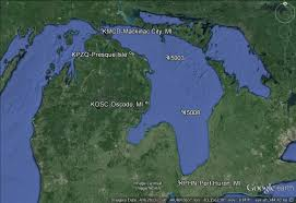 Port Huron Michigan Map by Lake Huron Mos Stations
