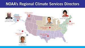 Pacific Region Map Regional Climate Services Directors National Centers For