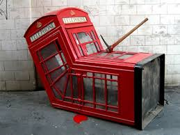 telephone booth banksy s telephone booth neatorama
