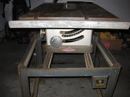 10 Craftsman Table Saw 1950 U0027s Craftsman Table Saw Mod 113 27520