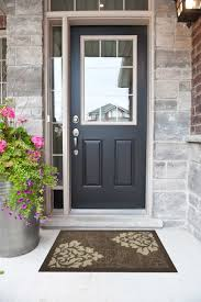 home decor superb black exterior door black front door home
