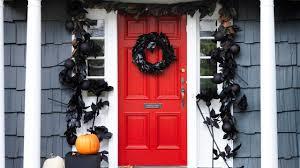 Halloween Front Door Decor Halloween Real Simple