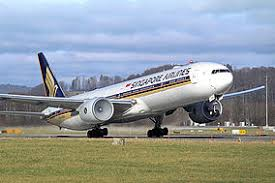 plan si es boeing 777 300er air singapore airlines