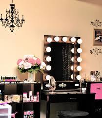 Vanity Set With Lights For Bedroom Bedroom Vanity Set With Lights Inspirations Including Lighted