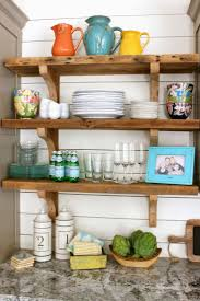 favorite things friday open shelving kitchens and ship lap walls