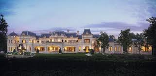 stunning chateau design from cg rendering homes of the rich