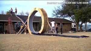 man builds boat in backyard from scratch cnn video