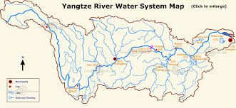 Rivers In Usa Map by Yangtze River Maps Location Cruise And Three Gorges Dam