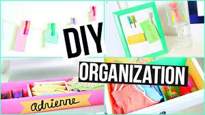 Organizing Hacks by Diy Spring Organization Life Hacks Room Decor Youtube