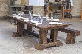 custom wood dining tables amazing trestle dining conference table custom furniture nashville