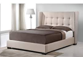queen size metal bed frame with brackets for headboard and