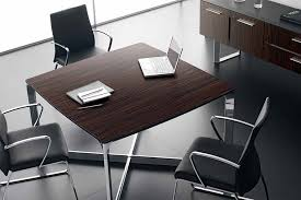 Square Boardroom Table Dhow Executive Meeting Desks International Your Space Our