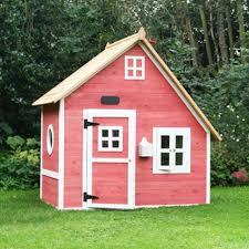 lawn u0026 garden simple modern pink painted wood garden playhouse