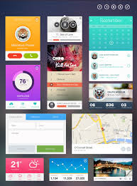 application ui design 20 mobile user interface design for your inspiration hongkiat