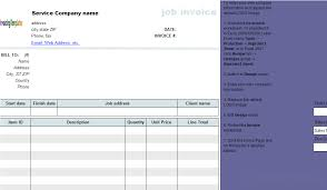 Excel Invoice Template 2003 Invoicing Template