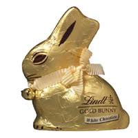 lindt easter bunny buy lindt easter bunny gold white chocolate 100g online at