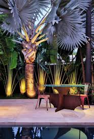 Tropische Pflanzen Im Garten Garten Beleuchtung 17 Ideen Für Die Richtige Atmosphäre