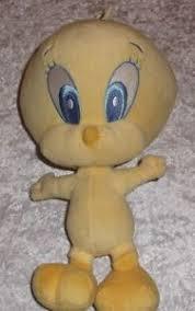 baby looney tunes tweety bird plush soft toy height 32cm ebay