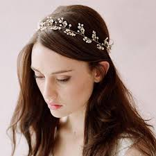 vintage headbands 2017 wedding bridal hairbands pearl flower silver plated vintage