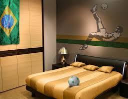 bedroom cheerful look of wallpaper murals for bedrooms bedroom minimalist design ideas using rectangular black leather headboard beds include brown stripes mattress covers