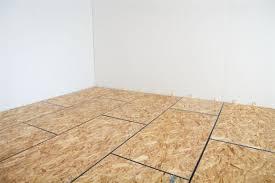 Diy Basement Flooring How To Diy Finish Your Basement Floor Insulated Subfloor