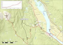 The 606 Map Hiking Tracks Enjoy Evenstad