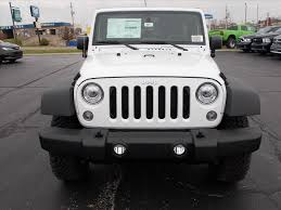 jeep rubicon white 2017 jeep wrangler unlimited rubicon in ohio for sale 22 used