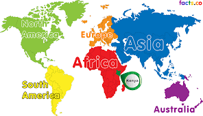 Africa Map Blank by Kenya Map Blank Political Kenya Map With Cities