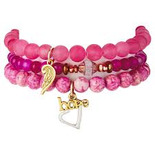 bracelet pink images Chavez for charity signature bracelets collection gift sets jpg