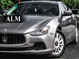 maserati ghibli sedan 2014 used maserati ghibli 4dr sedan at alm gwinnett serving duluth