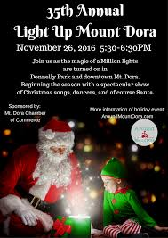 mt dora ultimate holiday event guide 2016