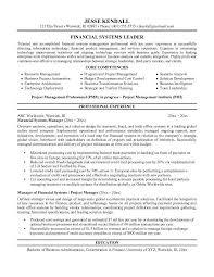 Business Administration Resume Sample by Finance Manager Resume Berathen Com