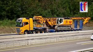 heavy duty volvo heavy haulage volvo fh16 750 ps u0026 bauer bg28h a 8 germany