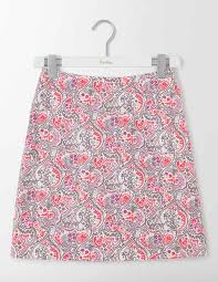 cotton skirts terraza cotton skirt wg704 above knee skirts at boden