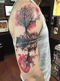 spirit halloween pekin il half sleeve done by karin janssen at maiden voyage tattoo studio