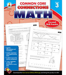 common core connections math workbook grade 3 carson dellosa
