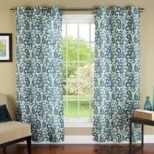 Teal Curtain Magnificent Teal Patterned Curtains And Teal Patterned Curtains
